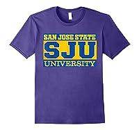 San Jose State 1887 University Apparel Shirts Purple