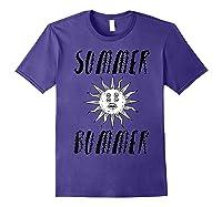 Summer Bummer Seapunk Shirts Purple