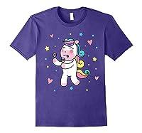 Cute Unicorn, Gift For Unicorn Lover Unicorn Lover Gift Shirts Purple