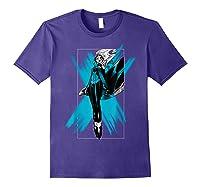 Marvel X- Storm Color Pop Box Graphic T-shirt Purple