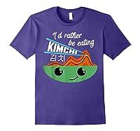 Kimchi Cute Korean Ferted Food Shirts Purple