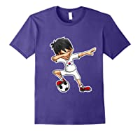 Dabbing Soccer Boy South Korea, Korean Flag Shirts Purple