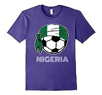 Nigeria Soccer 2019 Super Eagles Fans Kit Football Shirts Purple