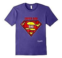 Super Dad By Inspir8 Movet Shirts Purple