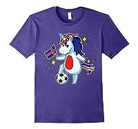 Soccer Unicorn Iceland Design Iceland Football Gift Shirts Purple