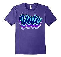 Vote Blue 2020 Vote 2020 Shirts Purple