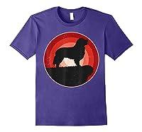 Bernese Mountain Dog Gifts Shirt For & T-shirt Purple
