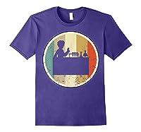 Laboratory Chemist Technician Science Scientist Research Job T-shirt Purple