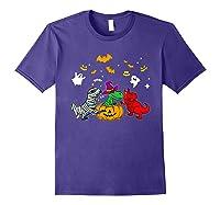 Funny Saurus Halloween Costumes Saurus Lovers Shirts Purple