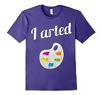 Arted Shirts Purple