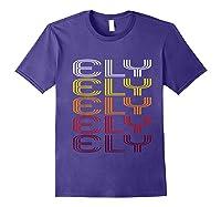 Ely, Nv Vintage Style Nevada Shirts Purple