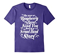 She Wore A Raspberry Beret T Shirt Purple