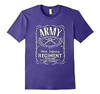 506th Infantry Regi Shirts Purple