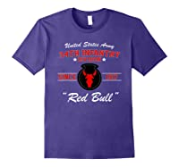34th Infantry Division Shirts Purple