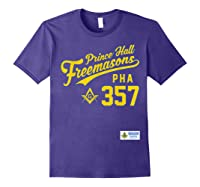 Masonic Prince Hall Pha 357 Sports Style Shirts Purple