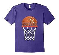 Basketball Foster Custom Name Gift, Shirts Purple