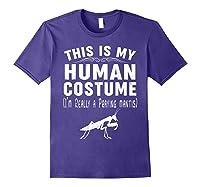 This Is My Halloween Costume I'm Realy Praying Mantis Shirts Purple