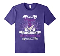 Cleft & Craniofacial Awareness Purple For Granddaughter Ts Shirts Purple