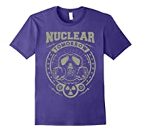 Nuclear Fallout - T-shirt Purple