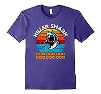 Killer Shark Funny Meme Shirts Purple