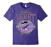 Aladdin Jasmine Let Your Heart Decide Ride Shirts Purple