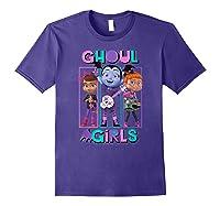 Vampirina Ghoul Girls Trio Shirts Purple