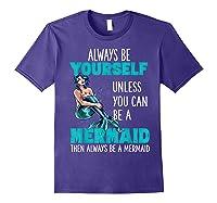 Cute Mermaid Gifts N Girls Mermaids Lover Gift Daughter Shirts Purple