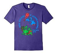 King Gizzard And The Lizard Wizard Shirts Purple