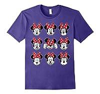 Disney Minnie Rock The Dots Oh My Minnie T-shirt Purple