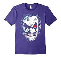 Lobo In Lo Face T-shirt Purple