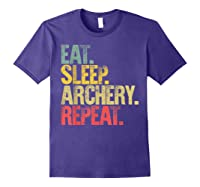 Eat Sleep Repeat Gift Shirt Eat Sleep Ary Repeat T-shirt Purple