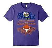Texas Longhorns Living Roots Apparel Shirts Purple