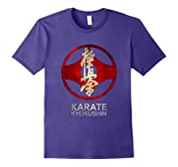 Karate Kyokushin T-shirt Purple