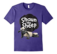 Shaun The Sheep Alt Logo With Shaun Shirts Purple