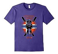 Alpine Skiing Attacking Vikings 2018 Shirts Purple