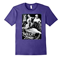 Twilight Zone About To Enter Another Dision Shirts Purple