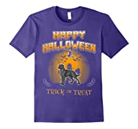 Chesapeake Bay Retriever Dog Happy Halloween T-shirt Purple