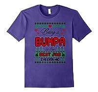 Being Bumpa Best Job I Ever Had Christmas Gift Premium T-shirt Purple