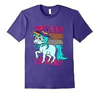 Halloween Unicorn Pride Colors Shirts Purple