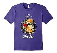 My Weekend Hustle Dj T-shirt T-shirt Purple