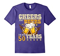 Funny Beer Drinking 1969 T Shirt 50th Birthday Gifts Purple
