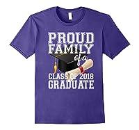 Class Of 2018 Shirt Graduate Graduation Proud Family Purple