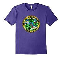 Sacrato California City Seal I Love Sacrato Pride Shirts Purple
