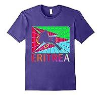 Eritrea Map Eritrean Shirts Purple