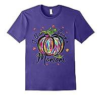 I Love Being A Momom T Shirt T-shirt Purple