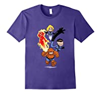 Fantastic Four Shirts Purple