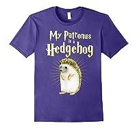 My Patronus Is A Hedgehog Harry Fan Cute Gift Shirts Purple