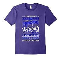 Huntington's Disease Awareness Christmas Shirts Purple