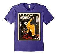 La Victoria Arduino Caffe Cafe Espresso Poster Shirts Purple