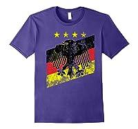Germany Soccer Style Deutschland 1990 Shirts Purple